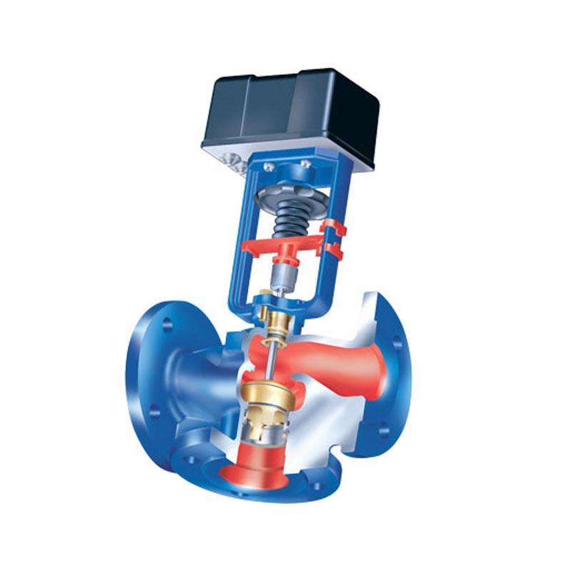Клапан отсечной прямоходный или угловой высокого давления, с пневмоприводом